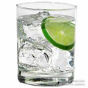 Gin Swizzle