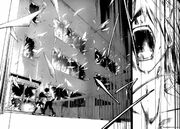 Yuuki shatters the windows