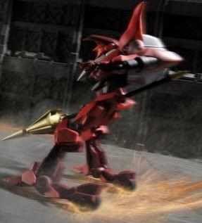 Guren Mk-I in battle