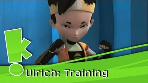 Code Lyoko - Ulrich's training tricks!