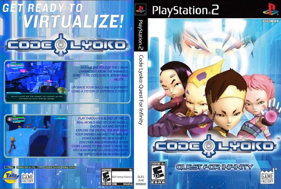 Cdigo Lyoko Quest for Infinity  Cdigo Lyoko Wiki  FANDOM