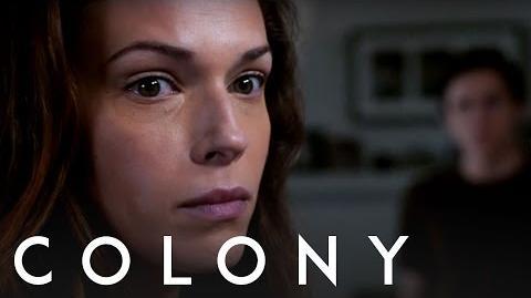 Colony Amanda Righetti - Behind the Scenes Interview