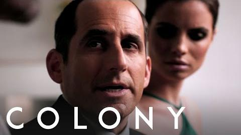 Colony Peter Jacobson - Behind the Scenes Interview