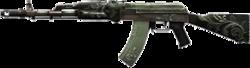 AK-74M Knight Wooden High Resolution