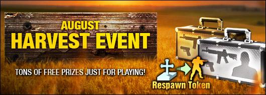 August Harvest Event