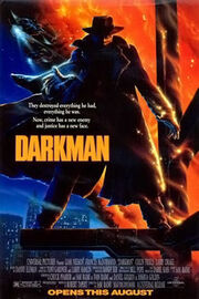 Darkman film poster