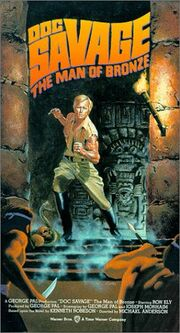Doc Savage VHS cover