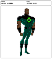 JUSTICE LORDS GREEN LANTERN