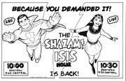 SHAZAM ISIS HOUR