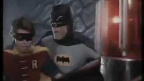 Batman picks the Metro over the 1966 Batmobile