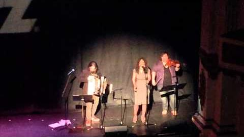"Live performance of the theme from the new ""Outlander"" TV show, ""The Skye Boat Song"""