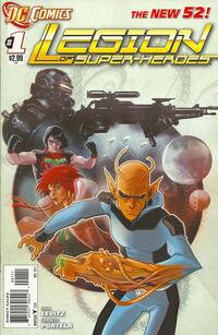 Legion of Super-Heroes 2011 1