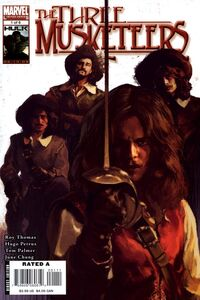 Marvel Illustrated The Three Musketeers 1