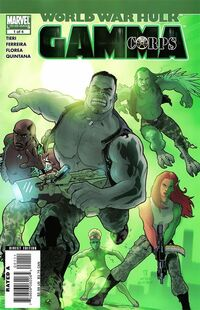 World War Hulk Gamma Corps 1