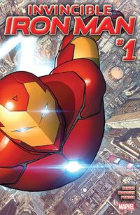 Invincible Iron Man 2015 1