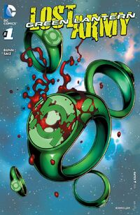 Green Lantern The Lost Army 1
