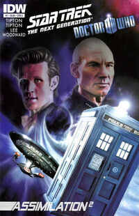 Star Trek TNG Doctor Who 1