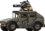 Commando Rush Grey Humvee