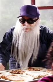Dean Pelton as a janitor