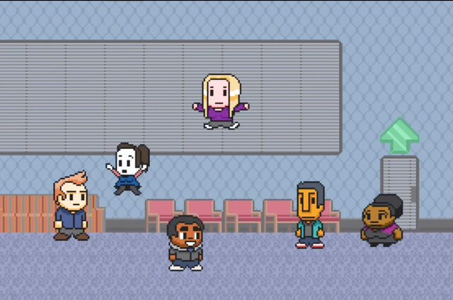 File:Study Group arrives in video game.jpg