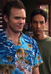 Jeff and Abed