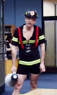 Dean Pelton as Fireman