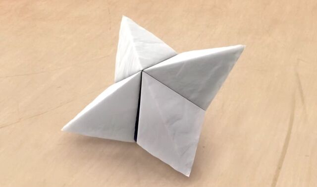 The Paper fortune teller