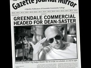 3x08-Dean Pelton newspaper 1