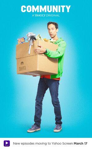 File:Community Season Six Abed Nadir promotional poster.jpg