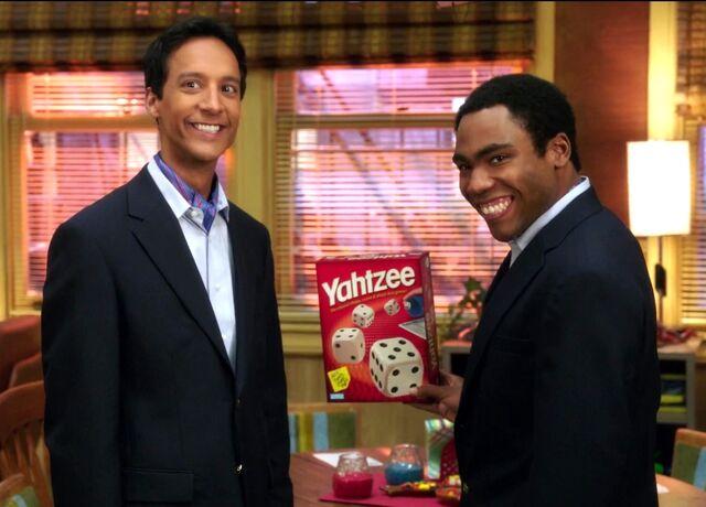 File:Troy and Abed saying Yahtzee.jpg