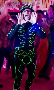 Dean as Tron