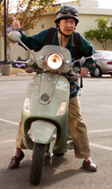 Changs motor scooter
