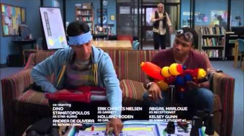 Community - Abed and Troy's Squirt Guns