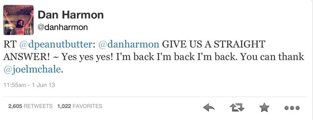 File:Dan Harmon Twitter return.jpg