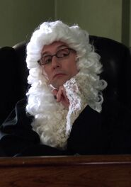 Dean Pelton as a judge