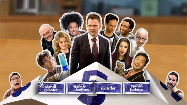Season Five DVD menu screen