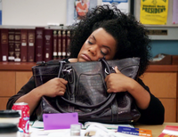 Shirley and her purse