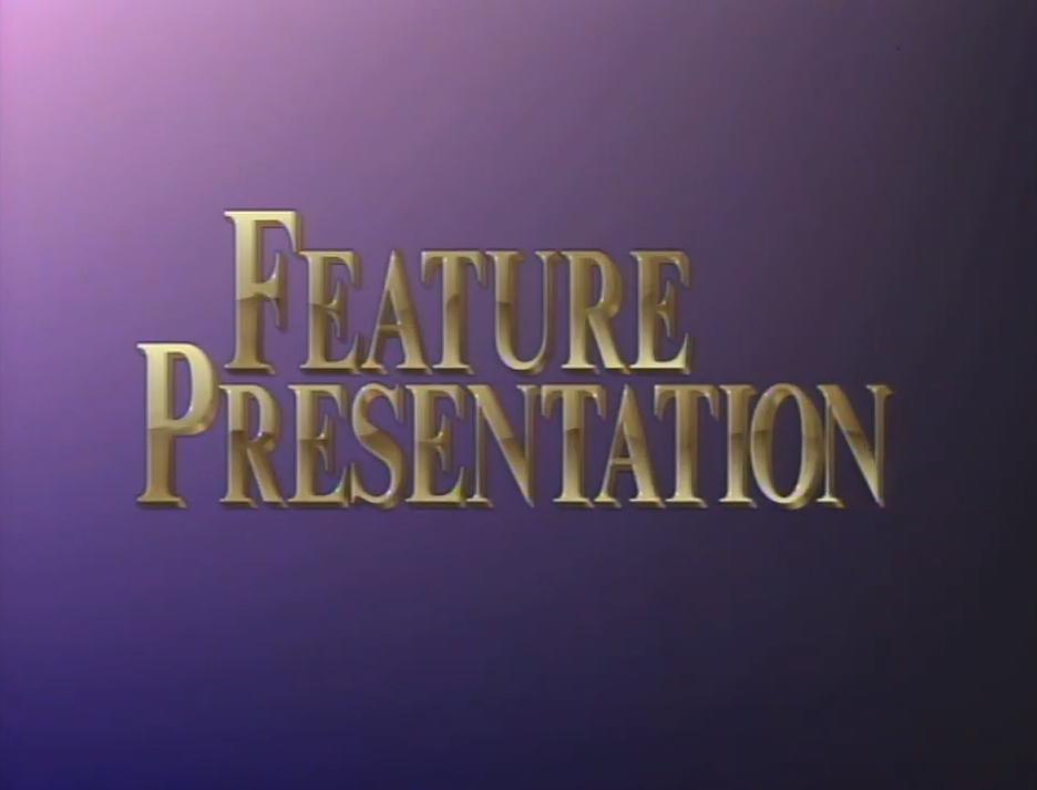 First Paramount Home Entertainment Feature Presentation bumper (golden words)