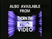 Also Available from Thorn EMI-HBO Video