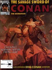 Savage Sword of Conan Vol 1 205