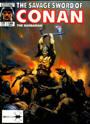 Savage Sword of Conan Vol 1 148