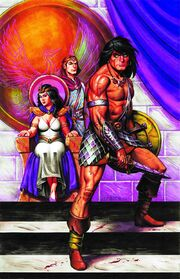 Conan the Cimmerian -18 Joseph Michael Linsner