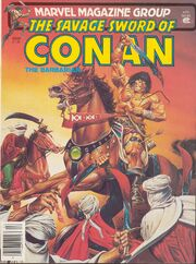 Savage Sword of Conan Vol 1 63
