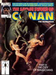 Savage Sword of Conan Vol 1 204