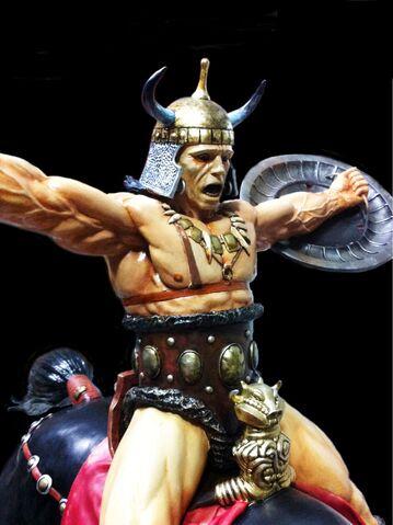 File:Conan the Conqueror (Estatue).jpg