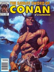 Savage Sword of Conan Vol 1 143