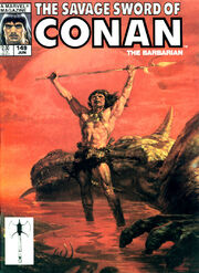Savage Sword of Conan Vol 1 149