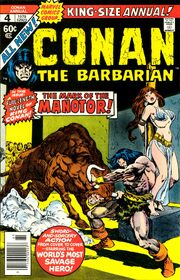 Conan the Barbarian Annual Vol 1 4