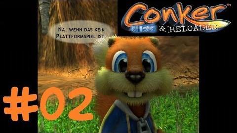 Let's Play Conker Live & Reloaded Folge 02 Biene + vollbusige Sonnenblume = ? XBOX 360 HD