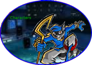 Sly Characters Button